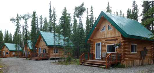 Caribou Cabins Has Some Of The Most Inviting Hotel Rooms On The Alaska  Highway. Our Genuinely Rustic Log ...